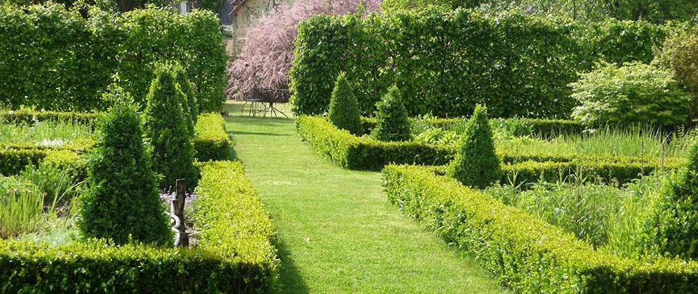 Jardin de Curé à la française